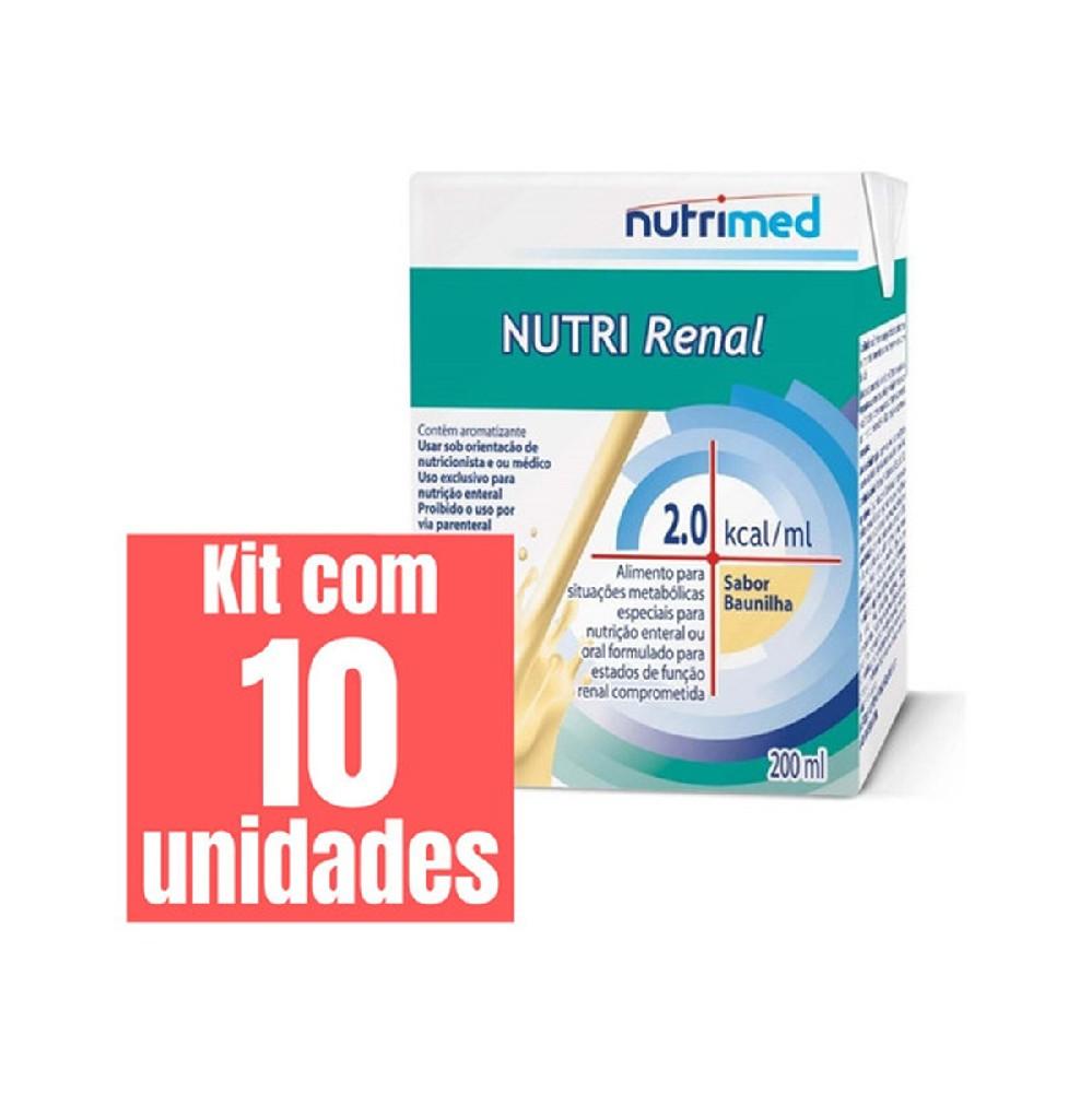 KIT NUTRI RENAL 2,0 CAL 200ML - 10 UNID