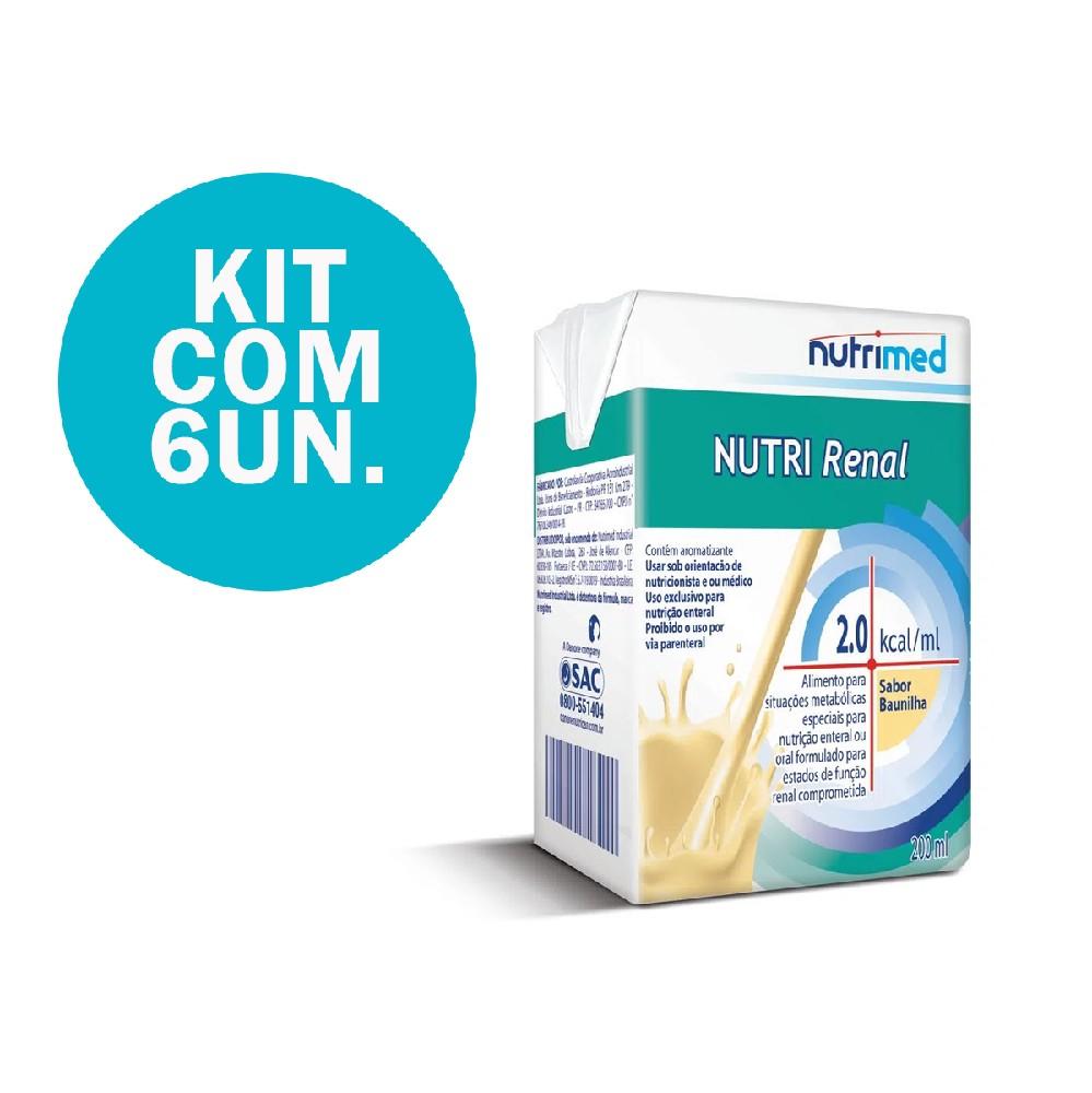 KIT NUTRI RENAL 2.0KCAL - 06 UNID