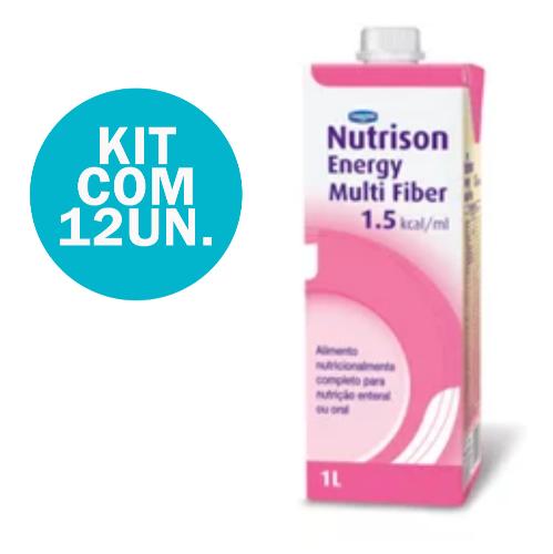 KIT NUTRISON ENERGY MULTI FIBER - 12 UNID