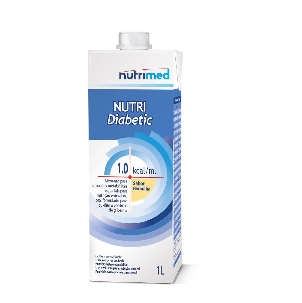 NUTRI DIABETIC BAUNILHA TB 1000 ML
