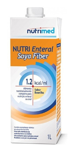 NUTRI ENTERAL SOYA FIBER  TP 1000ML NUTRIMED