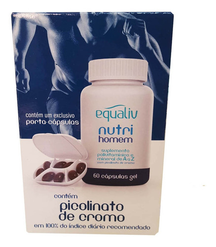 NUTRI HOMEM POLIVITAMINICO AZ 60 Caps EQUALIV