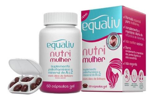 NUTRI MULHER POLIVITAMINICO AZ 60 Caps EQUALIV