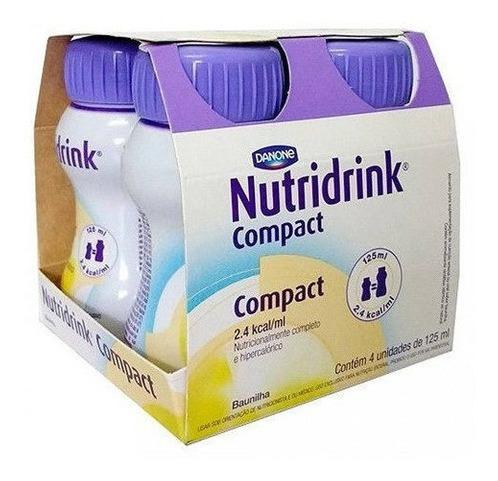 NUTRIDRINK COMPACT BAUNILHA 125ml PACK 4 UND. DANONE