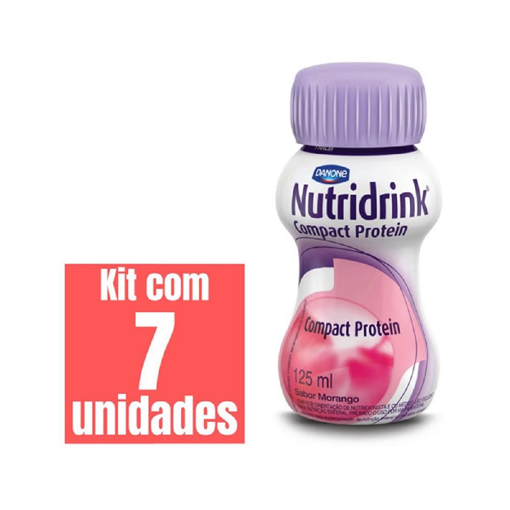 NUTRIDRINK COMPACT MORANGO 125ml PACK 4 UND.
