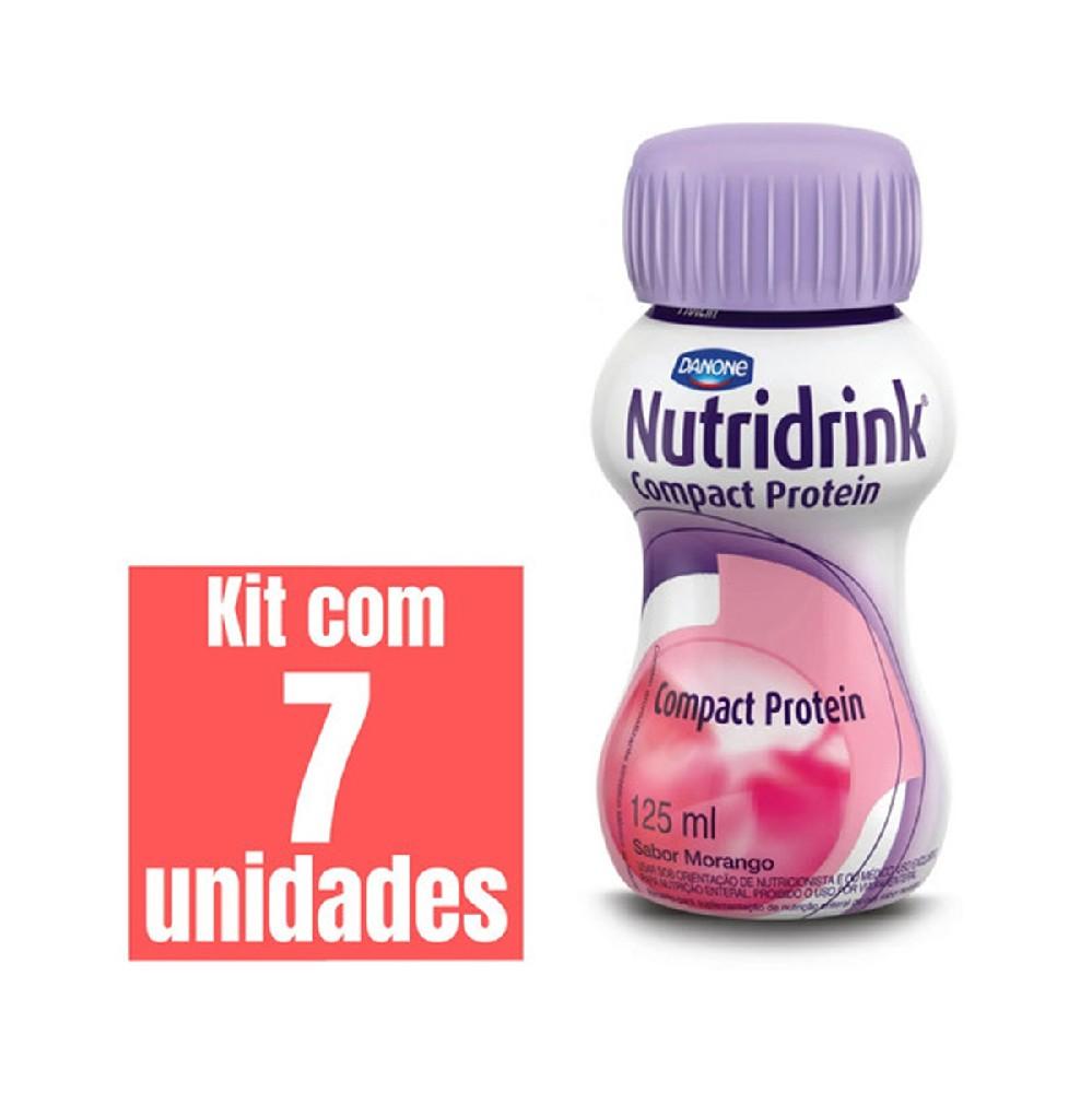 NUTRIDRINK COMPACT PROTEIN MORANGO 125ml