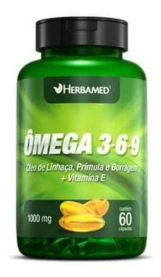 OMEGA 3 6 9 60 CAP 1000MG HERBAMED