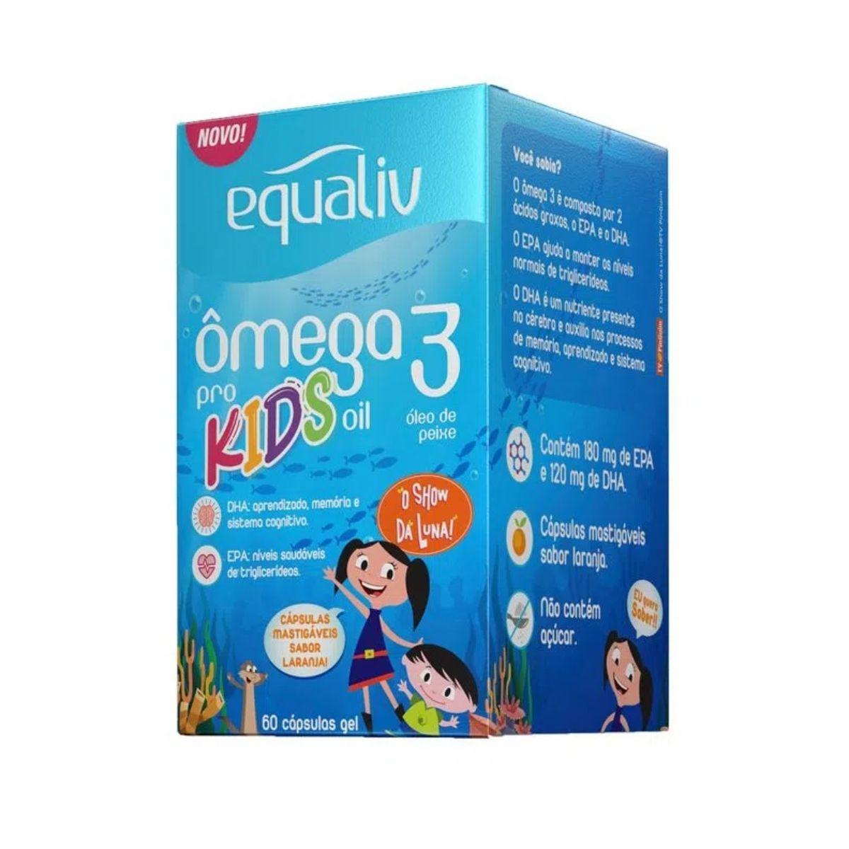 OMEGA 3 KIDS 60 CPS EQUALIV