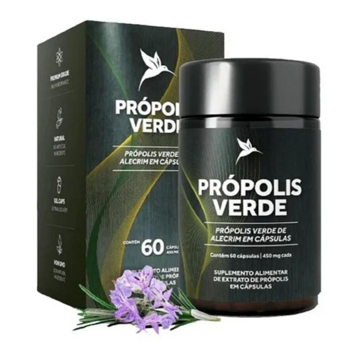 PROPOLIS VERDE 60  CAPS -  PURAVIDA