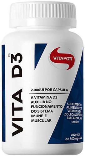 VITA D3 60 CAPSULAS VITAFOR