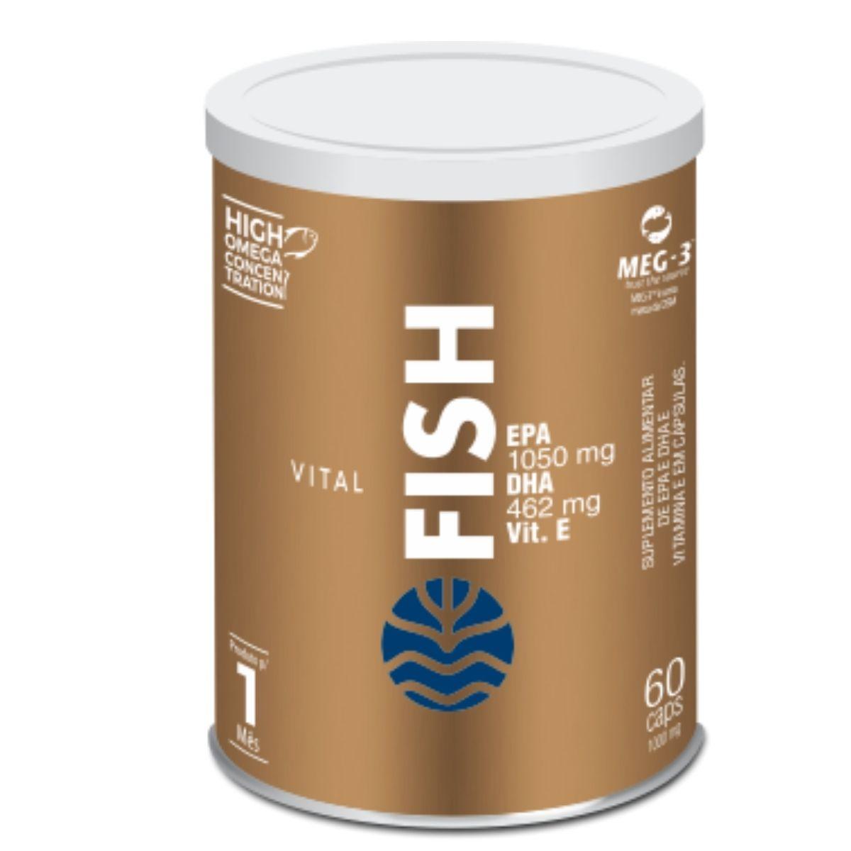 VITAL FISH 60 Caps VITAL ATMAN