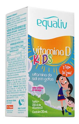 VITAMINA D KIDS EQUALIV 20 ML