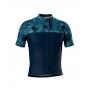 Camisa de Ciclismo Confort - Blue Camufle