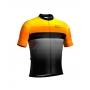 Camisa de Ciclismo Confort - New Orange