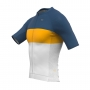 Camisa de Ciclismo Expert - Striped Yelow
