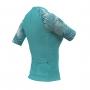 Camisa de Ciclismo Expert FEM - Tropical Acqua