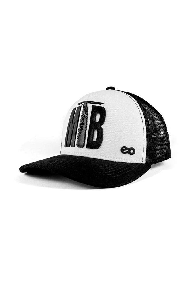 Boné MTB - White Black