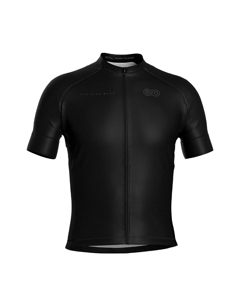 Camisa de Ciclismo Confort - Black