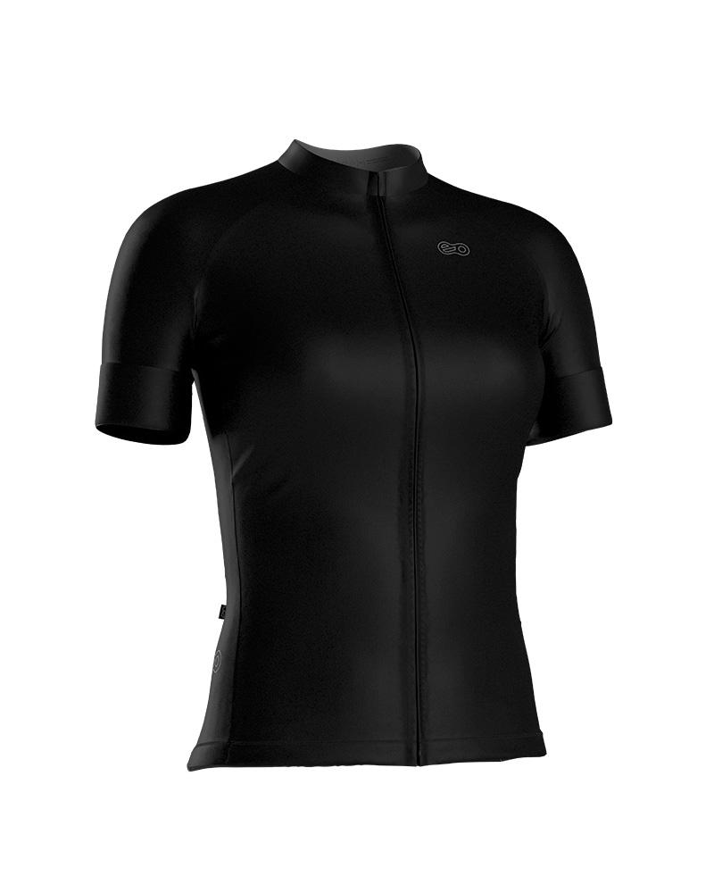 Camisa de Ciclismo Confort FEM - Black