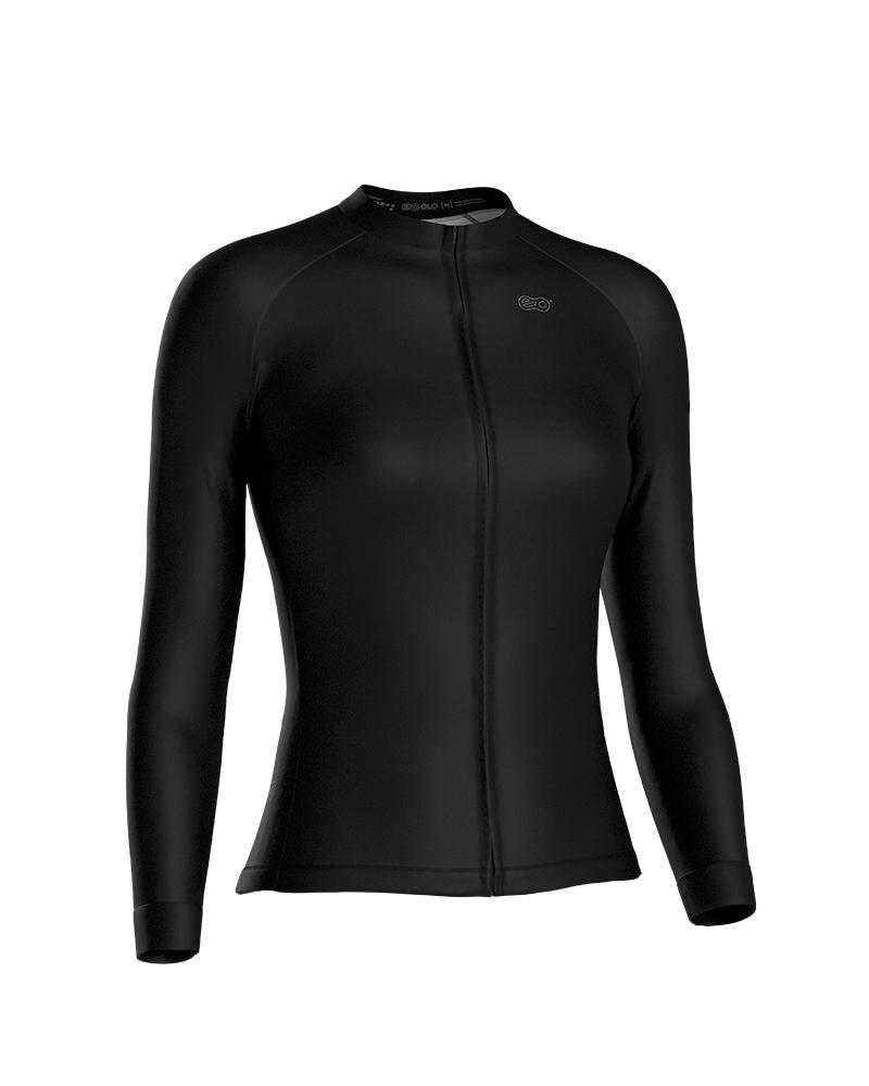 Camisa de Ciclismo Confort FEM ML - Black