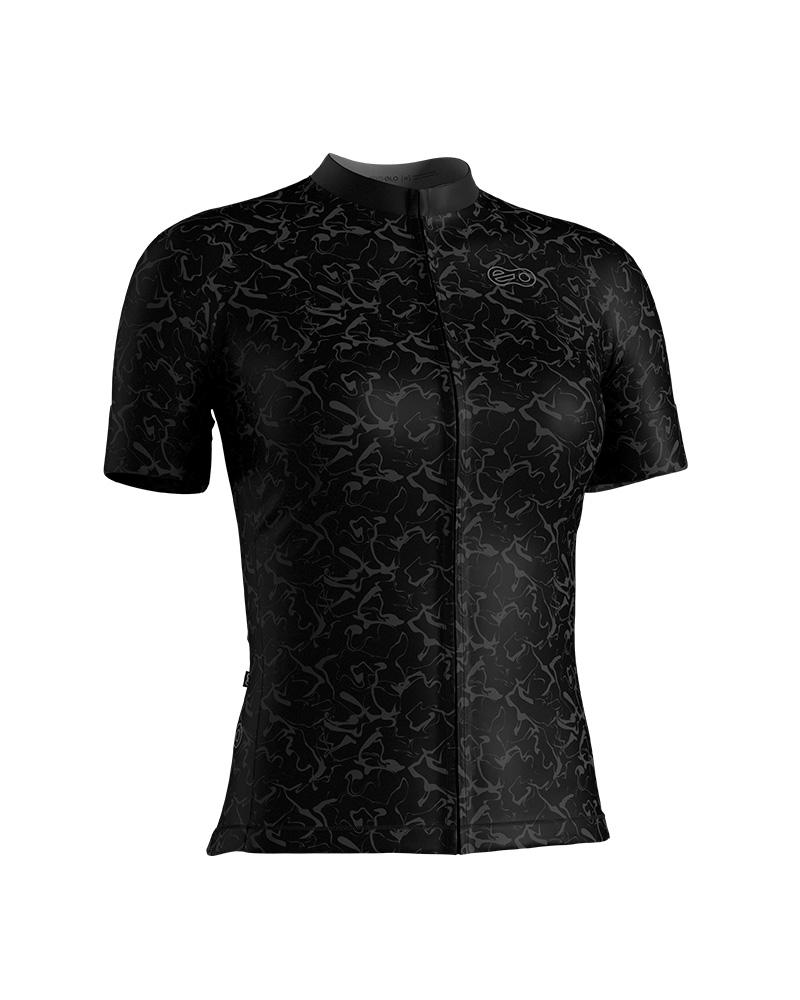 Camisa de Ciclismo Confort FEM - Black Wonder
