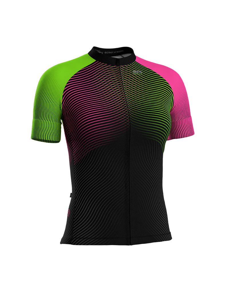 Camisa de Ciclismo Confort FEM - Color Wave