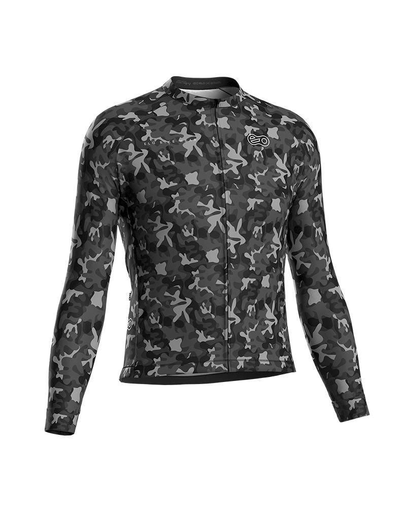 Camisa de Ciclismo Confort ML - Dark Camufle