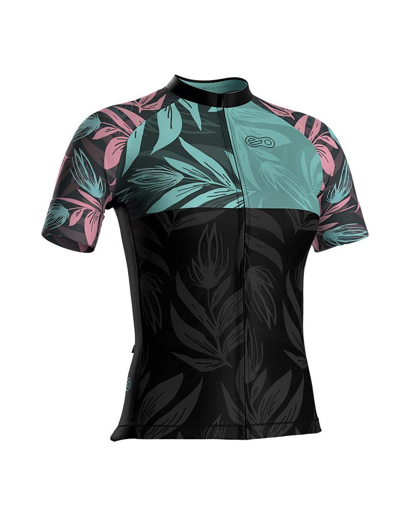 Camisa de Ciclismo Confort FEM - Flower