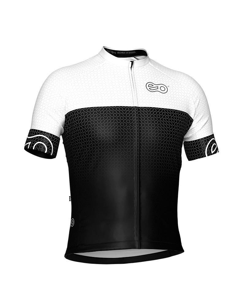 Camisa de Ciclismo Confort - New White
