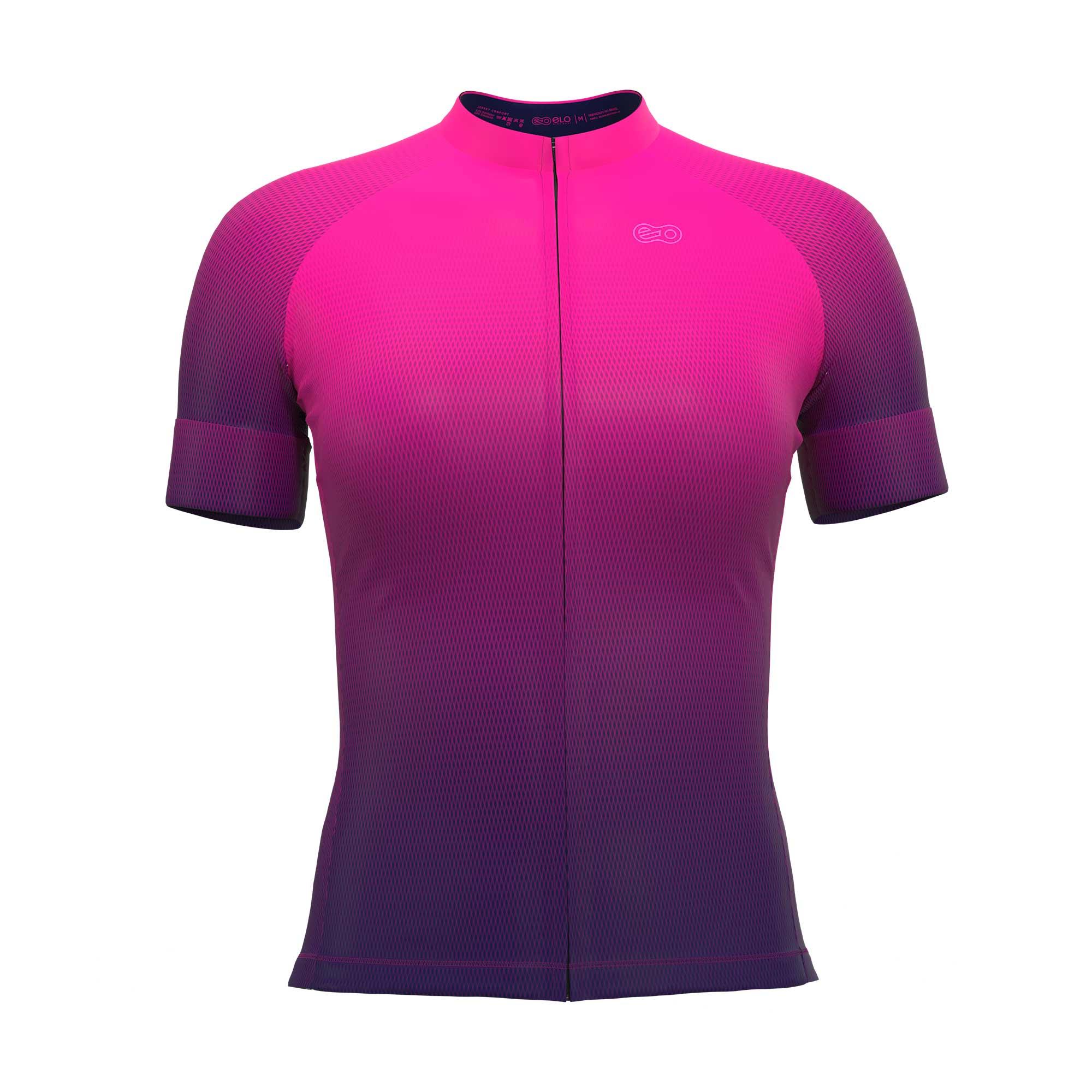 Camisa de Ciclismo Confort FEM - Purple