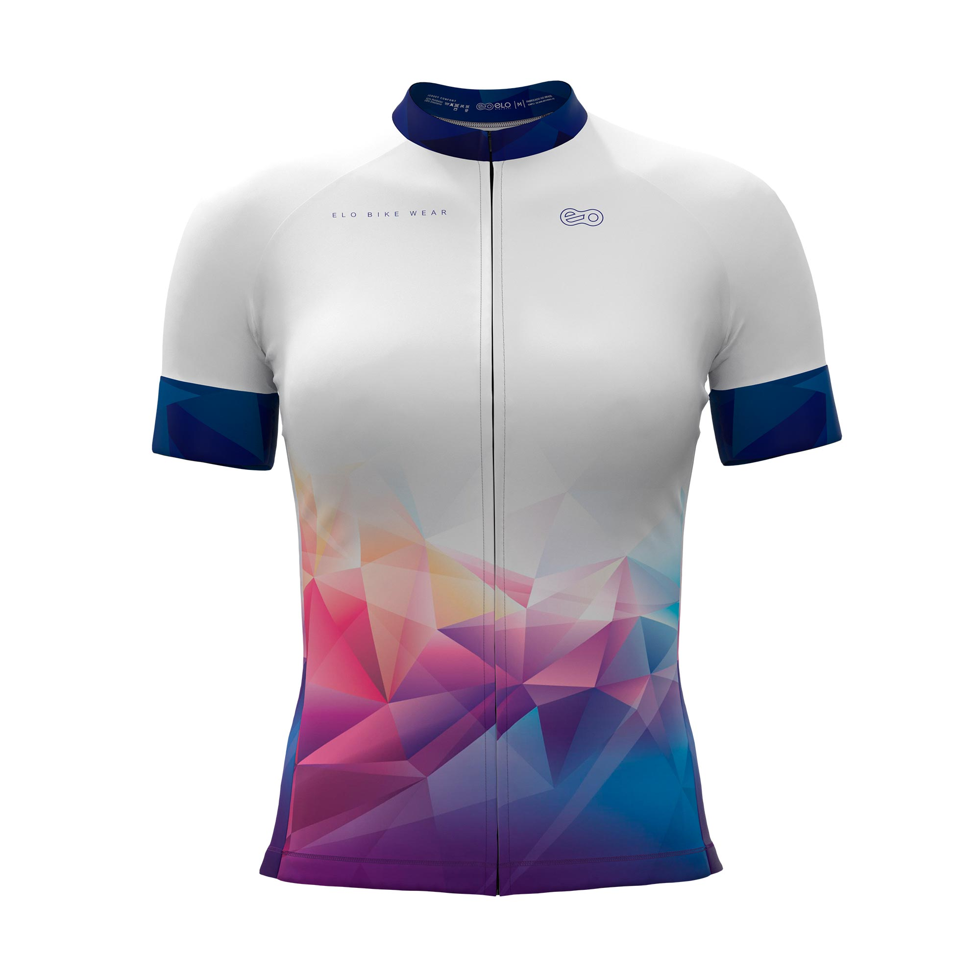 Camisa de Ciclismo Confort FEM - The Colors
