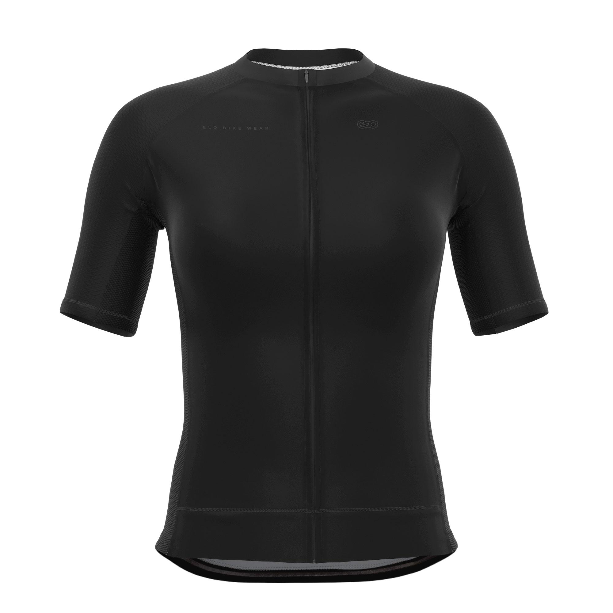 Camisa de Ciclismo Expert FEM - Classic Black