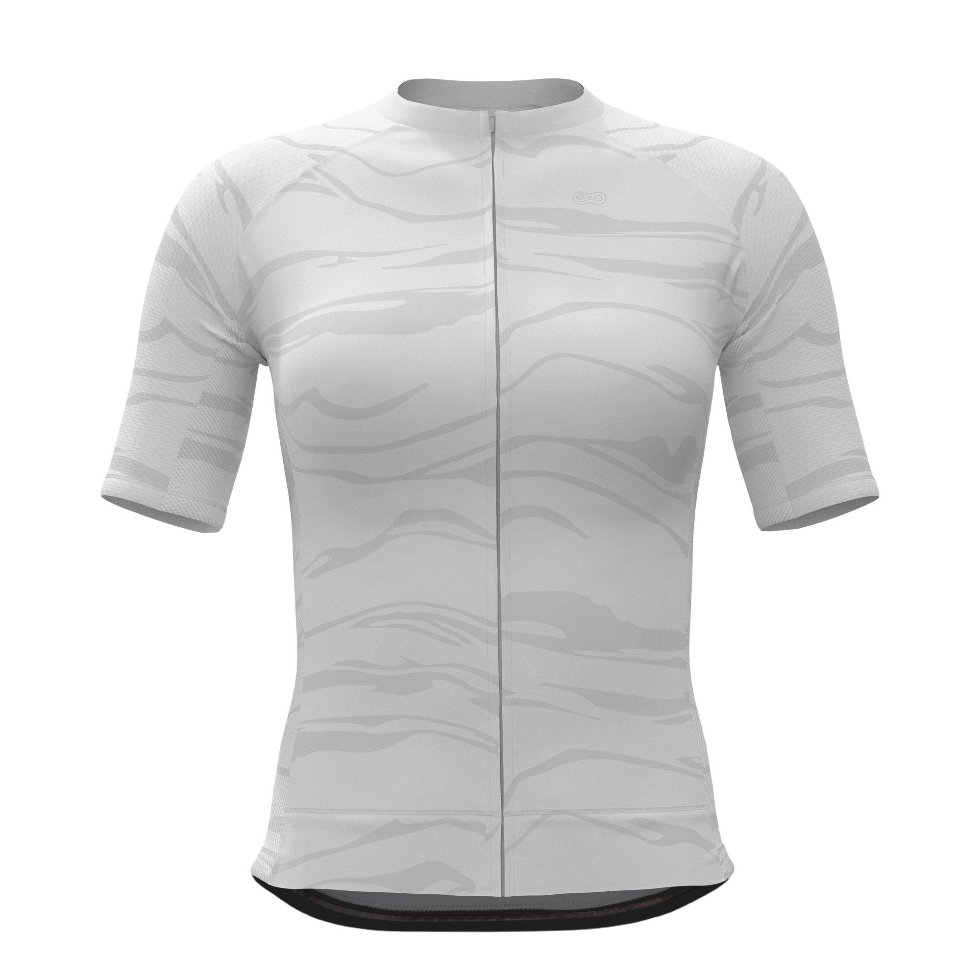 Camisa de Ciclismo Expert FEM - Wave White