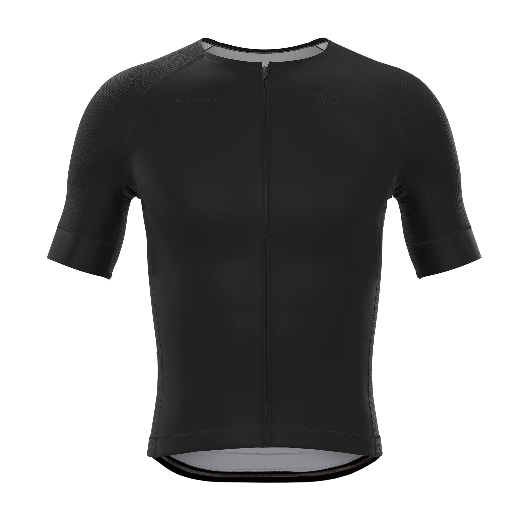 Camisa de Ciclismo Race - Classic Black