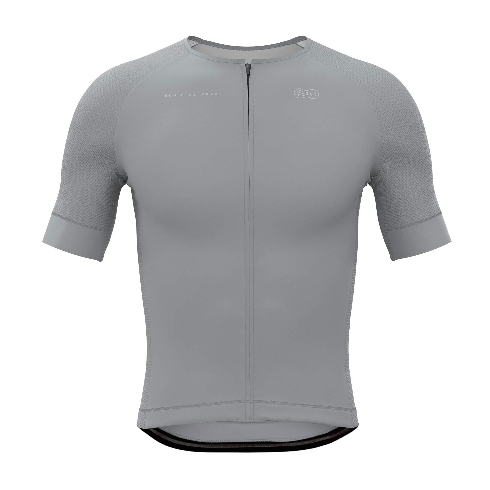 Camisa de Ciclismo Race - Classic Gray