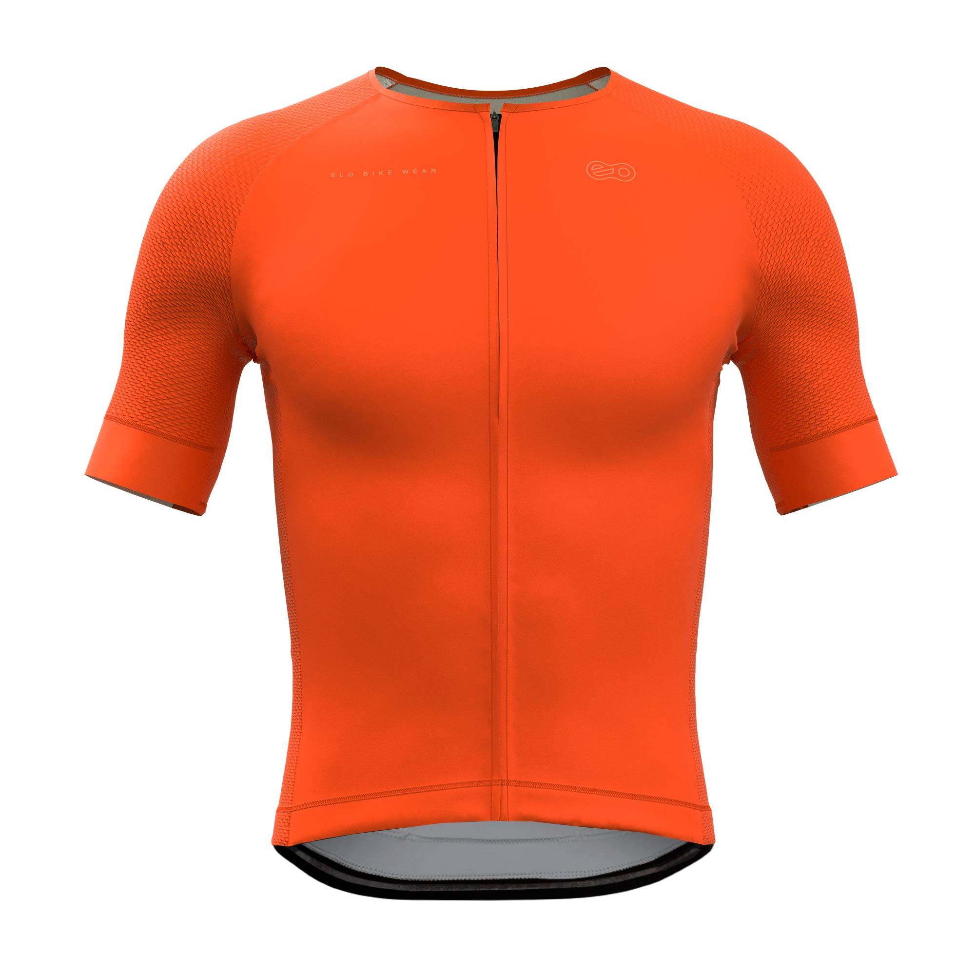 Camisa de Ciclismo Race - Classic Orange