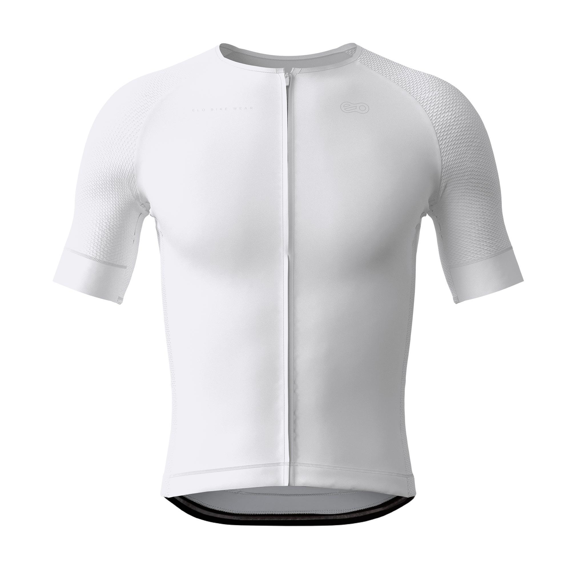 Camisa de Ciclismo Race - Classic White