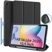 Capa Flip Dux Ducis Domo - Samsung Galaxy Tab S6 Lite - P610 / P615 (Tela 10.4)