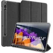 Capa Flip Dux Ducis Domo - Samsung Galaxy Tab S7 Plus T970 T976 (Tela 12.4)