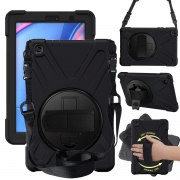 Capa Protetora Skudo Strap360 - Samsung Galaxy Tab A 8.0 2019 C/ S Pen - P200 / P205 (Tela 8.0)