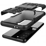 Capa Skudo Armadura 2x1 - Samsung Galaxy S21 Ultra (Tela 6.8)
