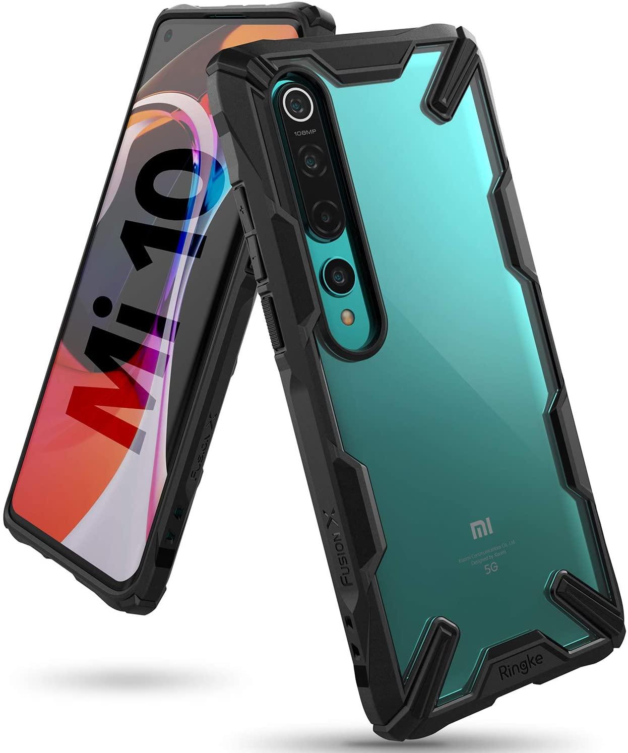Capa Ringke Fusion X - Xiaomi Mi 10 / Xiaomi Mi 10 Pro (Tela 6.67)