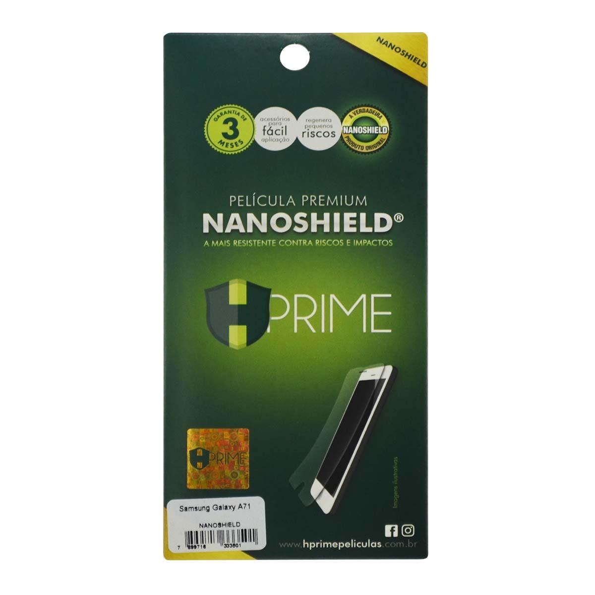 Película Hprime NanoShield - Samsung Galaxy A71 (Tela 6.7)