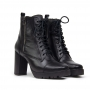 Bota Coturno Sapato Da Corte Salto Alto