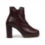 Bota Sapato Da Corte Coturno Salto Bloco Médio