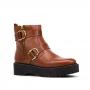 Bota Sapato Da Corte Coturno Sem Cadarço
