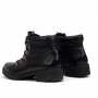 Bota Sapato Da Corte Coturno Tratorado Salto Baixo