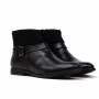 Bota Sapato Da Corte Flat Dobra Tricô