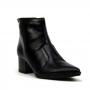 Bota Sapato Da Corte Salto Baixo