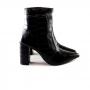Bota Sapato Da Corte Salto Bloco